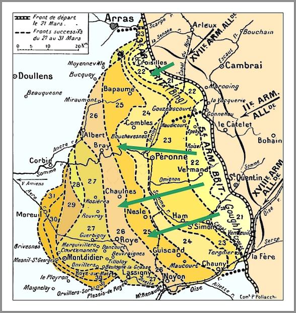 Bataille de l'empereur - mars 1918