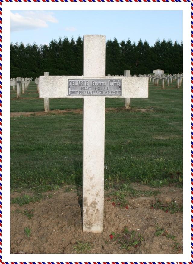 Autre soldat du régiment mort le même jour