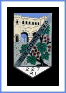 Insigne régimentaire (vers 1950)